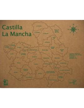 ROMPECABEZAS COMARCAS DE CASTILLA-LA MANCHA 300x37