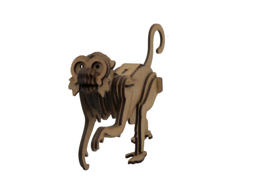 Capuchin Monkey - Wood Models